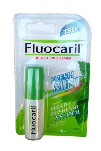 Souffle instantanée Fluocaril Désodorisant spray buccal menthe fraîche w / Xylitol sans sucre