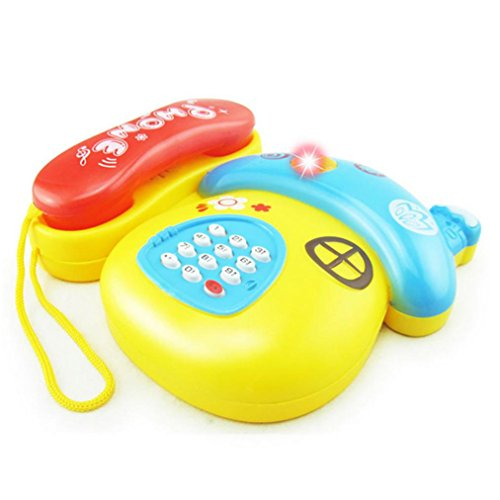 Baby Toy Rattle Infant Teether Puzzle Educational(10 Pieces) - 9