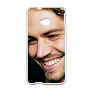 Customized Protective Hard Plastic Case for HTC One M7 - Paul Walker personalized case at CHXTT-C
