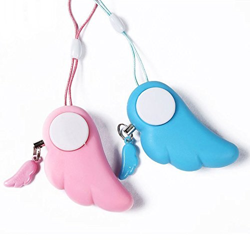 nal Protection Anti-Attack Panic Safety Security Alarm, Mini Self Defense Emergency Alarm for Girl/Women (Blue Color). ()