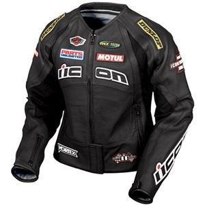 Icon merc hero leather jacket
