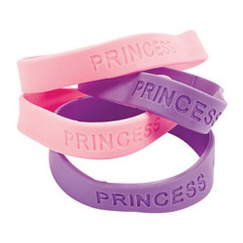 Rubber Princess Bracelets