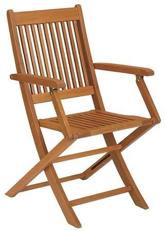 Strathwood Basics - Sillas plegables de madera dura (2 ...