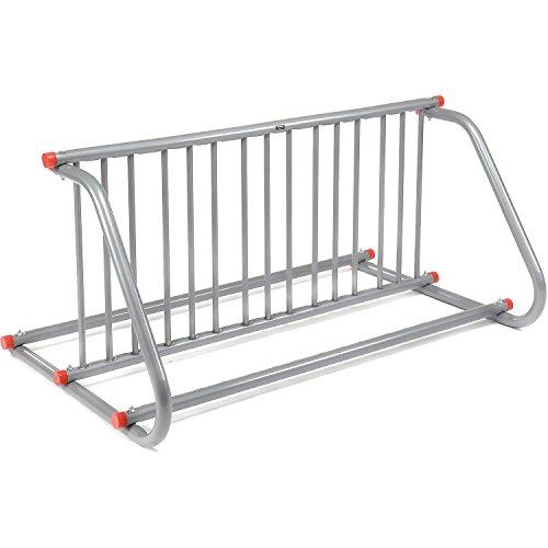 Grid Bike Rack, Double Sided, Powder Coated Galvanized Steel, 10-Bike Capacity by Global Industrial