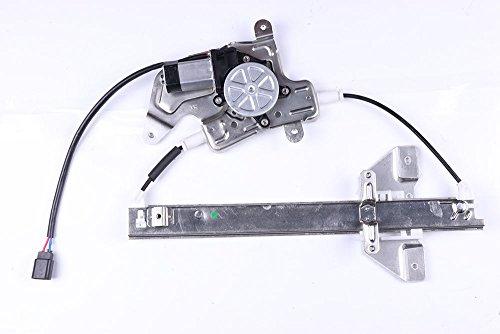 Power Window Regulators Rear Right Passengers Side with Motor Assembly Replacement Parts for 1999-2005 Pontiac Grand Am 4 Door 1999-2004 Oldsmobile Alero 4 Door ()