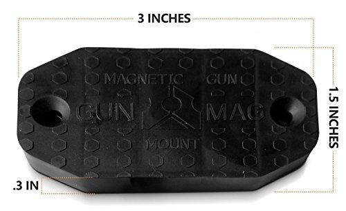 Firearm Gun Magnet 35 Lbs Firearms Magnets Rubber