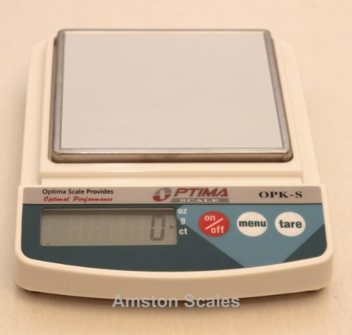 5000 x 2 GRAM DIGITAL SCALE 25000 CARAT 176 OUNCE POCKET BALANCE SILVER GOLD POSTAL STEEL by Amston Optima Scales by Amston Optima Scales