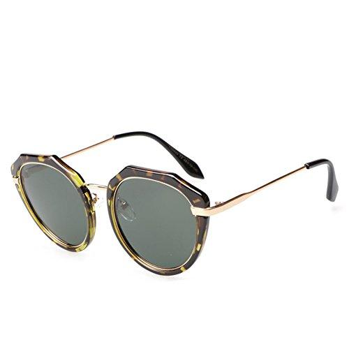 De Silver Viaje Marco De Natural De Metal Anti Gafas Soporte UV Personalidad Polarizadas Conducción Unisex De Moda Sol De Irregular Gafas Del RqpSBwEOp