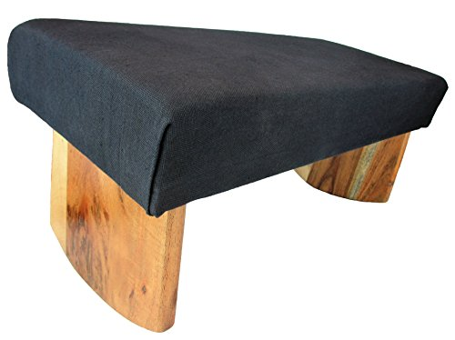 Meditation Bench, Acacia Wood, -