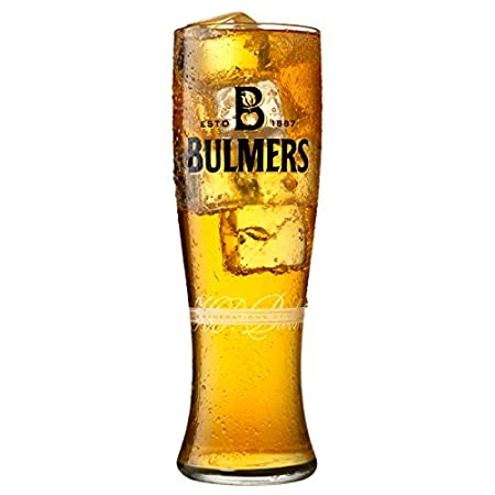 Set Of 2 Bulmers Pint Glasses