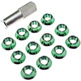 UUMART Star Power Radio Control Switch Nut for Futaba JR FrSky Taranis X9D Plus 12PCS Nut with 1pcs Wrench