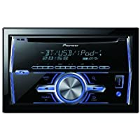 Pioneer FH-S700BS Double DIN In-Dash CD/AM/FM Built-in Bluetooth Enhanced Audio Functions SiriusXM Ready MIXTRAX Car Stereo Receiver