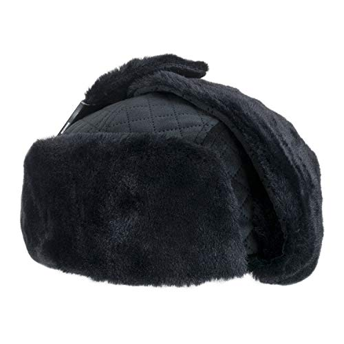 New Era Skate - New Era Winter Pack Trapper Hat - Large Black