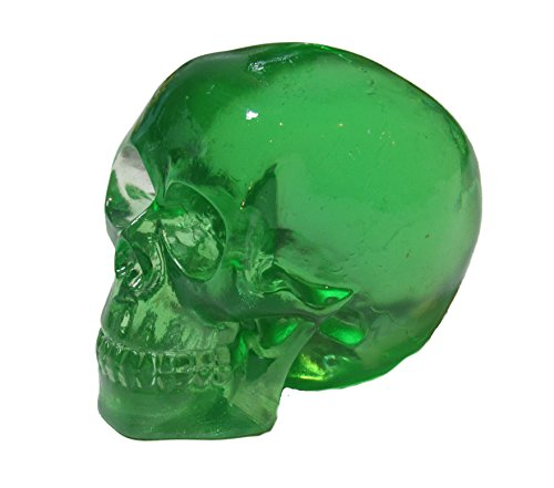Kool Gear - Clear Green Skull Head Shift Knob / Decor