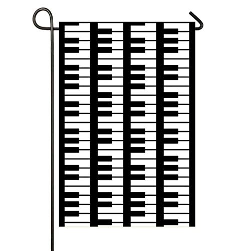 Decorative Flags,Vertical Multi Piano Keyboard Garden for sale  Delivered anywhere in Canada