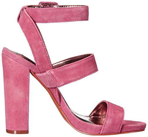 Steve Madden Womens Canaan Dress Sandal Mauve Suede