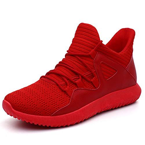 Da Uomini Autunno up Scarpe Unisex Lace Sneakers Camminare Primavera Rosso Comodo Atletico Casual Jogging vqaf1A