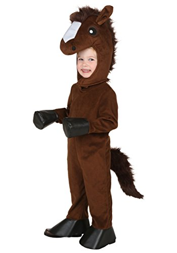Toddler Happy Horse Costume 4T Brown]()