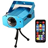 Coidea 9-watt 7colors Led Stage Projector Light Party Portable Ocean Moving Waves Effect Projector Lighting
