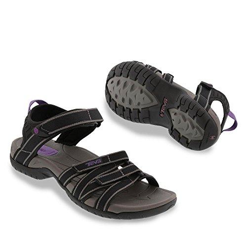 Teva Tirra W's,  Sandalias Deportivas para Mujer Black / Grey