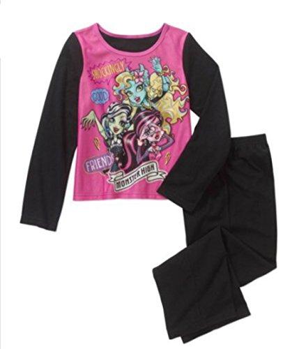 (Monster High Girls Flannel Pajama Set)