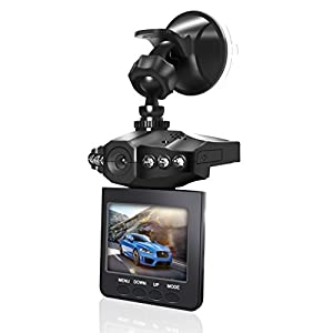 """Dash Cam,Car DVR,Dashboard Camera,Car Recorder 2.5"""" for Cars with Loop and Emergency Recording / HD IR Dash Cam 270 Degrees Rotatable Camera Video Recorder / Traffic Dashboard Camcorder Loop Recording"""