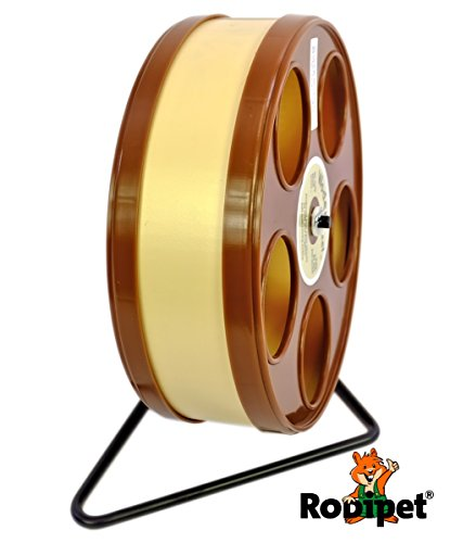 Ø 20 cm Laufrad für Zwerghamster RoboWheel braun/beige