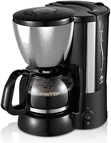 ZLSANVD Cafetera de Filtro Máquina de café for la Caja de Acero Inoxidable Desmontable Uso del