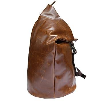 BOAOGOS Backpack Mochilas Tipo Casual 13 Pulgadas Daypacks Casual Bolsas Artesanales Hombres Y Mujeres Bolso de Viaje En El Exterior,Marrón: Amazon.es: ...
