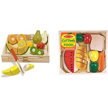 Amazon Com Melissa Amp Doug Cutting Food And Cutting Fruit
