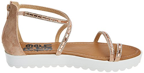 Ouvert Sandales Refresh Bout Femme 64202 nude Rose panH6P
