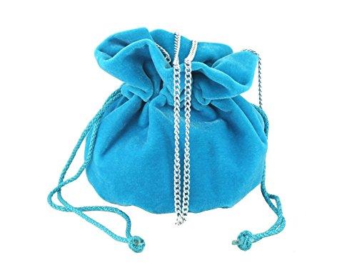 Turquoise Ecru Petit Loni Velvet Pour Femme ivory Pochette Fantasy Ivoire Y6qwYz8