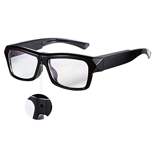DATONTEN Glasses with Camera HD 720P Video Recording Glasses with 8GB SD - Frames Eyeglass Memory