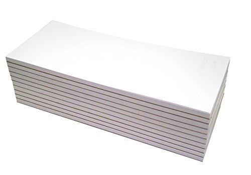 Memo Pads - Note Pads - Scratch Pads - Writing Pads - 10 Pads with 50 Sheets in Each Pad (3-1/2 x 8-1/2 -