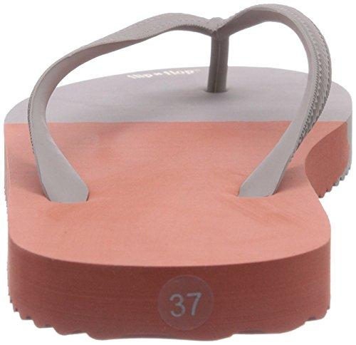 flip*flop - Sandalias de caucho para mujer Mehrfarbig (863 clay/alpes)