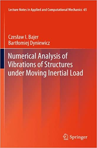 Numerical Analysis of Vibrations of Structures under Moving