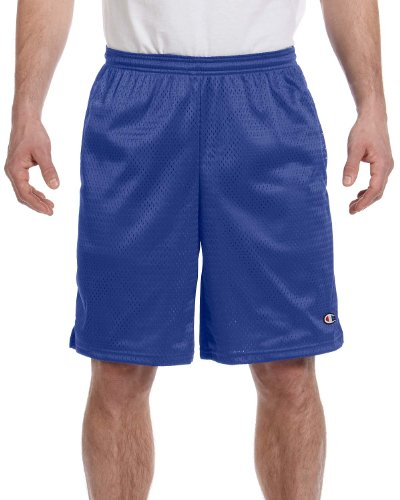 Champion+Men%27s+Mesh+Short+with+Pockets+Athletic+Royal+L