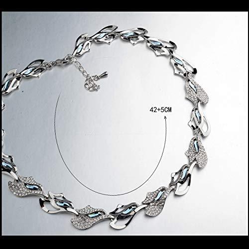 compras online de deportes Segundo BBG Collar de cristal cristal cristal de lujo con estilo europeo y americano de regalo de cumpleaños,segundo  grandes ofertas