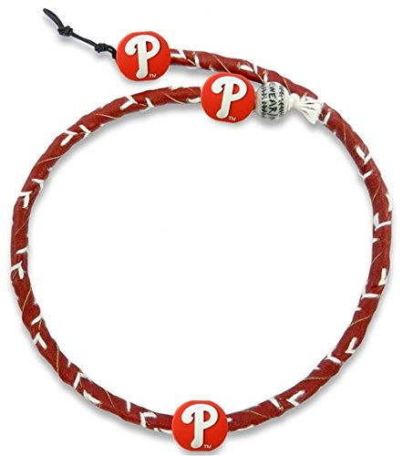 MLB Philadelphia Phillies Team Color Frozen Rope Baseball Necklace (Genuine Necklace Mlb)