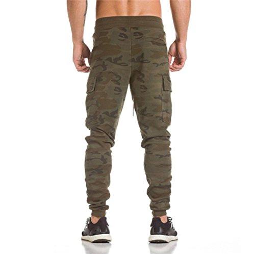 Casual Dance Jogger Personnalité Camouflage Streetwear Slim Rawdah Poche Pour Hiphop Pantalons Mode Harem Pantalon Survêtement Homme De Sportwear Latérale Hommes Sport Baggy Décontracté BOZqF