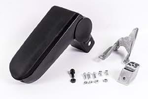Seitronic® VW Golf 4 apoyabrazos central en Textil Negro - apoyabrazos Volkswagen Golf IV