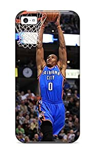 TYHde New Snap-on AnthonyR Skin Case Cover Compatible With Iphone 5/5s- Oklahoma City Thunder Basketball Nba ending
