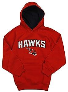 Atlanta Hawks NBA Big Boys Pullover Fleece Hoodie, Red