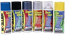 Moeller Engine Spray Paint, Volvo Charcoal 254817