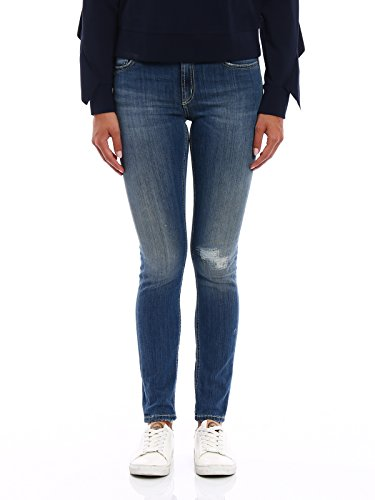 Donna Cotone P990ds112dp57pdh800 Dondup Jeans Blu TwqAWpHn