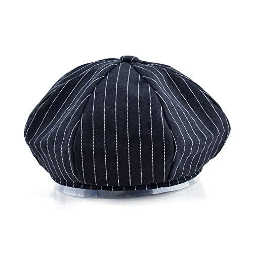 Retro caps Men Newsboy Cap Unisex Solid Color Cotton Gorras Planas Berets Women Hex hat Casquette Hats, Black at Amazon Womens Clothing store: