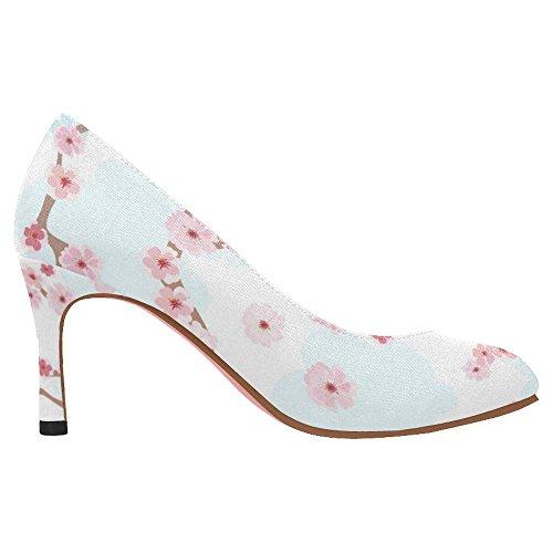 InterestPrint Womens Classic Fashion High Heel Dress Pump Shoes Multi 5 f80CV8j3