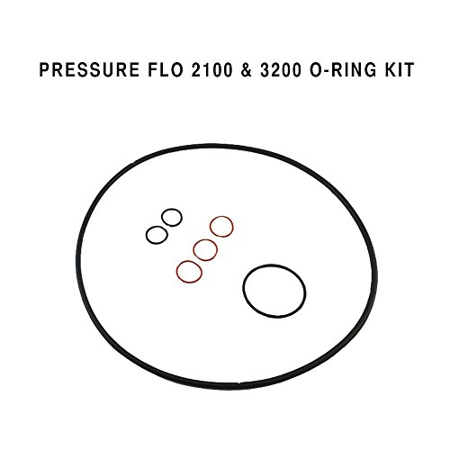 Laguna Replacement O-Ring Kit for Pressure Flo 2100 & 3200 Filter, Contains All Essential Replacement Orings.