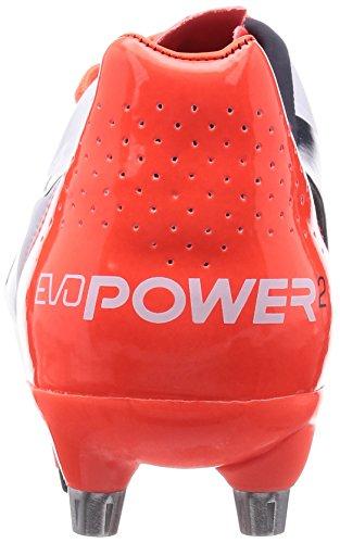 2 weiß Sg Blast blanc Formation Football 2 Mixed lava Eclipse total Chaussures Homme Puma 04 Blanc Evopower De SEqSP