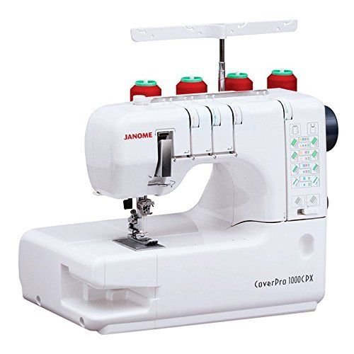 Janome CoverPro 1000CPX Portable CoverStitch Machine With Free Bonus Package